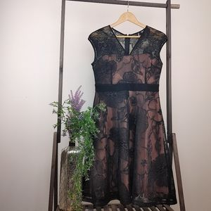 Le CHATEAU | Formal Lace Black Dress